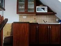 Dvoulůžkový pokoj kuchyňka - Mikulov