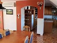 Velký apartmán - kuchyně + jídelna - Mikulov
