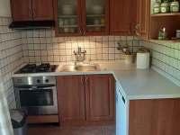 Kuchyň - chalupa ubytování Vanovice- Drvalovice