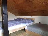 Ložnice 3 - chalupa k pronajmutí Vanovice- Drvalovice