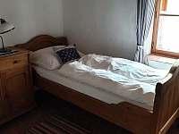 1. apartmán - pokoj č. 2 - chalupa k pronájmu Tvořihráz