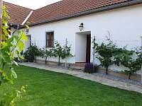 Vinařská usedlost Tvořihráz - chalupa ubytování Tvořihráz