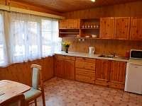 kuchyň - chata ubytování Lančov