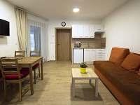 Apartmán 1 - kuchyň s jídelnou