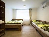 Apartmán č.1- společná ložnice - pronájem Velké Pavlovice