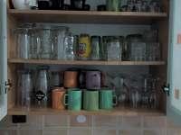 část vybavení kuchyně - chata k pronajmutí Lednice - Nejdek