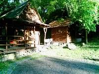 chatka a objekt se sociálním zařízením - ubytování Lednice - Nejdek