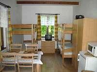 umístění lůžek - chata ubytování Lednice - Nejdek