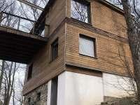Chata v korunách stromů - ubytování Onšov