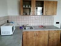 kuchyňský kout II - apartmán ubytování Strachotín