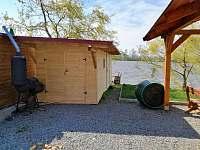 zahradní domek na kola, kočárky...