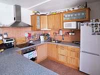 Bike chalupa - kuchyň - ubytování Zaječí