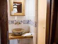 Koupelna - pronájem chalupy Morkůvky