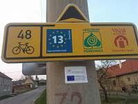 cyklostezky přes obec
