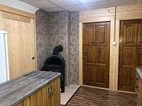kuchyň - chata ubytování Bítov - Kopaninky