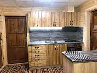 kuchyň - pronájem chaty Bítov - Kopaninky