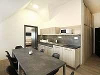 Apartmán č. 4, kuchyňka - Kozojídky