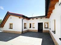 Penzion Kozojídky - pohled z terasy - ubytování Kozojídky