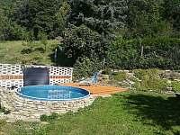 Bazén Azuro - chalupa ubytování Suchov