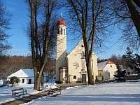Kostel v Hlubokých Mašůvkách -