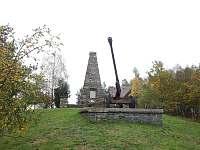 Památník osvobození - chalupa k pronajmutí Hluboké Mašůvky