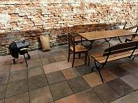 Ubytování ŠRÚFEK - K dispozici je i gril, grilovací náčiní a uhlí - pronájem chalupy Podivín