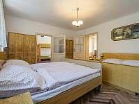 Ubytování ŠRÚFEK - Ložnice 1 - Průhled do pokojů - Podivín