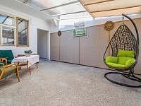 Ubytování ŠRÚFEK - Veranda s posezením 3 - chalupa ubytování Podivín