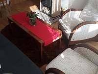 obývací pokoj - chata k pronajmutí Halenkovice
