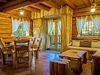 Srub interiér - pronájem Lančov - Vranovská přehrada