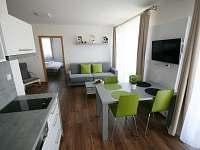 2+kk s terasou - apartmán ubytování Lednice na Moravě