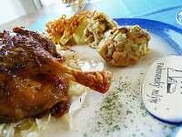 Kachnička se zelím - pronájem chalupy Bukovany u Kyjova