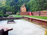 okolí chaty - k pronájmu Vápenice 12