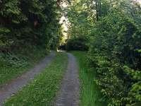 příjezd k chatě - Vápenice 12