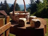 venkovní hry - kostky - Vápenice 12
