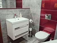 WC - chalupa k pronájmu Kobylí