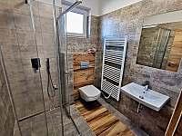 Koupelna - chalupa k pronajmutí Mikulov - Mušlov