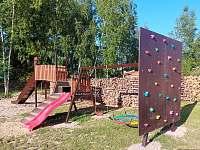 Dětské hřiště - pronájem chaty Suchý