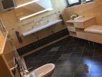 koupelna 1.patro - chalupa ubytování Blansko - Češkovice