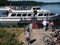 lodní doprava - chatky k pronájmu Bítov