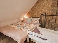 Pohled do ložnice - apartmán ubytování Prušánky - Nechory