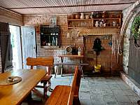 degustační místnost s posezením - Těšetice u Znojma