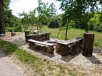 otevřené ohniště s posezením - Těšetice u Znojma