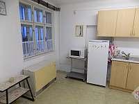 Kuchyňka - pronájem chalupy Tasov u Hroznové Lhoty