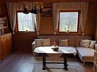 Obývací pokoj - pronájem chaty Buchlovice - Smraďavka