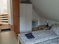 Vila Matylda - ložnice 1 - celkem 4 lůžka - pronájem Klentnice