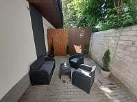 Apartmán LauMar 1 - terasa - k pronájmu Bzenec