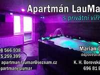 Apartmán LauMar 1 s privátní vířivkou - apartmán k pronajmutí - 30 Bzenec