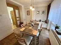 Kuchyň v apartmánu 1 - pronájem chalupy Bořetice