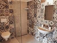 Apartmán 1 - koupelna samostatné ložnice v přízemí - Nový Přerov